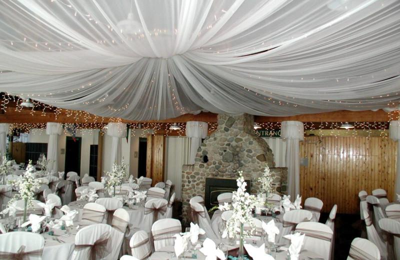 Wedding reception at Giants Ridge Golf and Ski Resort.