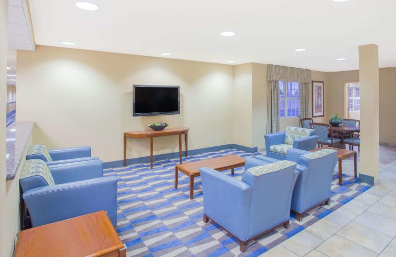 Lobby at Microtel Inn & Suites Yuma.