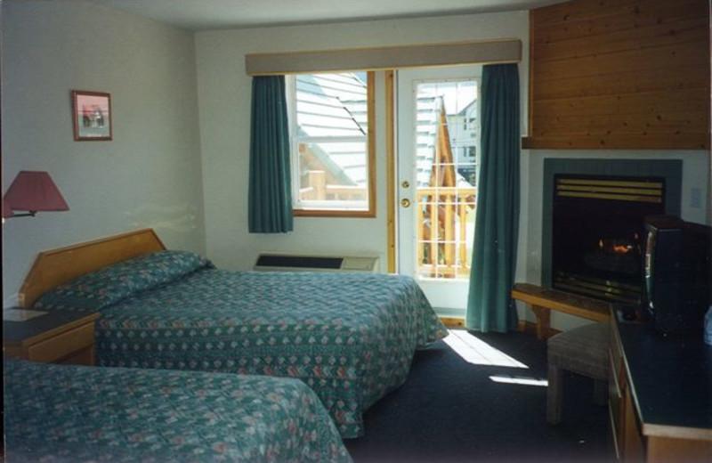 Guest room at Westridge Country Inn.