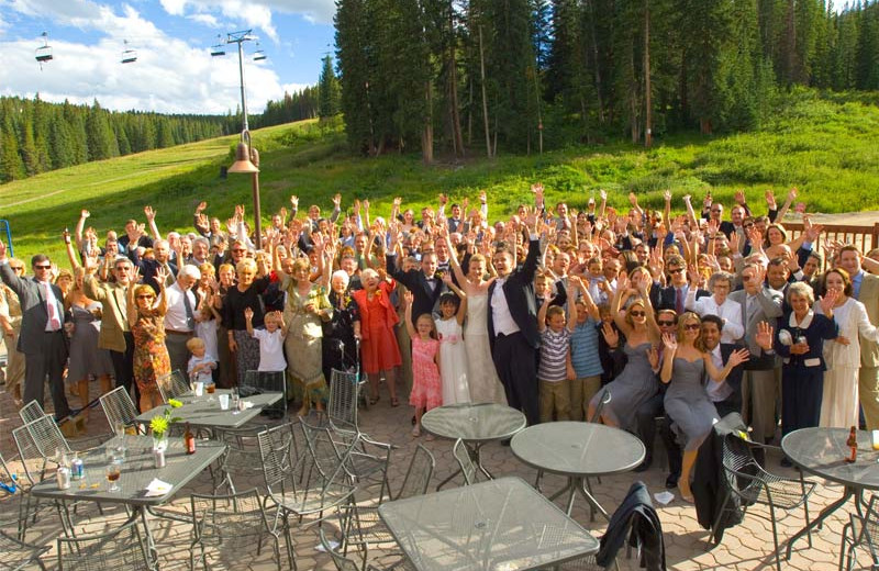 Wedding at Beaver Run Resort & Conference Center.