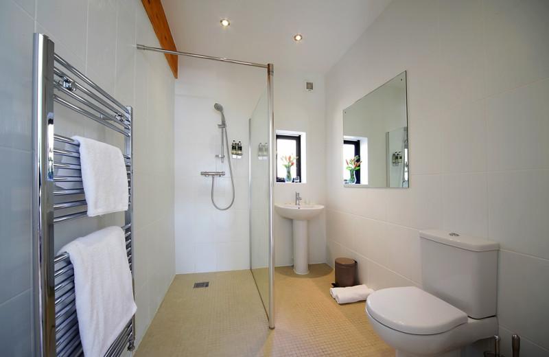 Cottage bathroom at Yorkshire Dales.