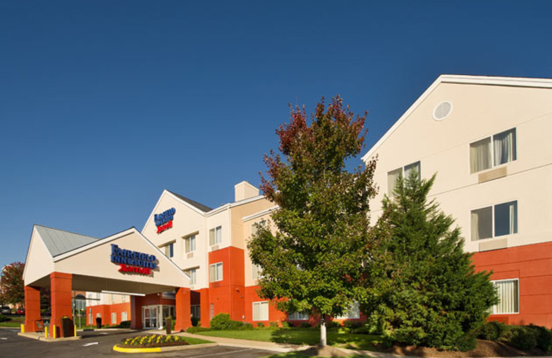 Exterior of Fairfield Inn Manassas