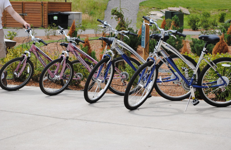 Bikes at Big Sandy Lodge & Resort.