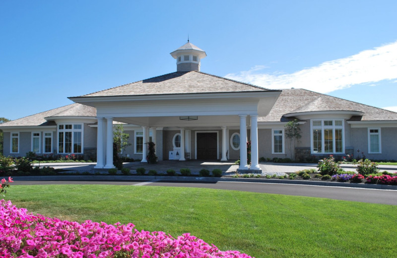 Clubhouse at Boothbay Harbor Country Club.