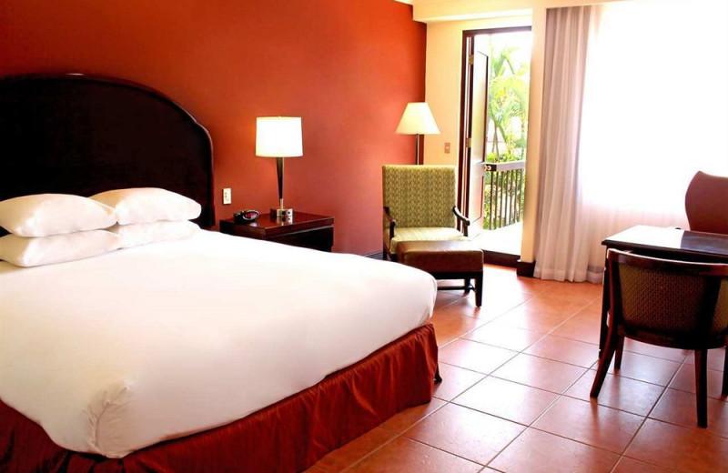 Guest room at Melia Cariari.