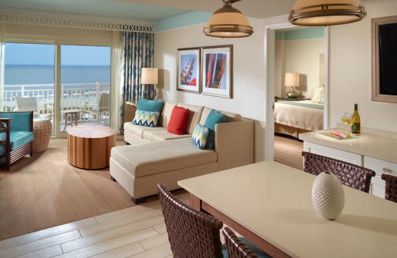 Guest room at Omni Amelia Island Plantation.