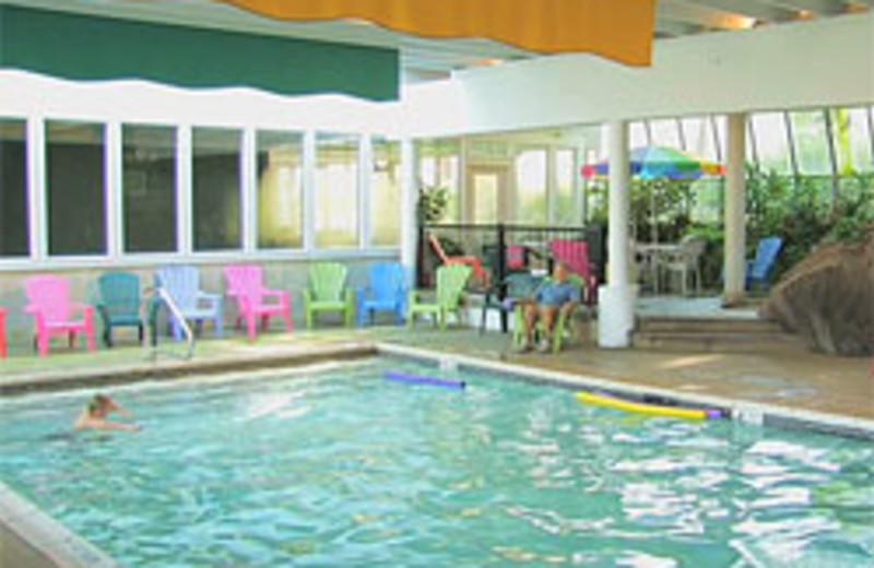 Indoor pool at Winter Clove Inn.