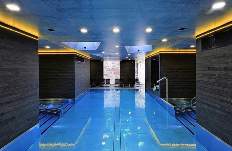 Indoor pool at Grandhotel Pupp Karlovy Vary.