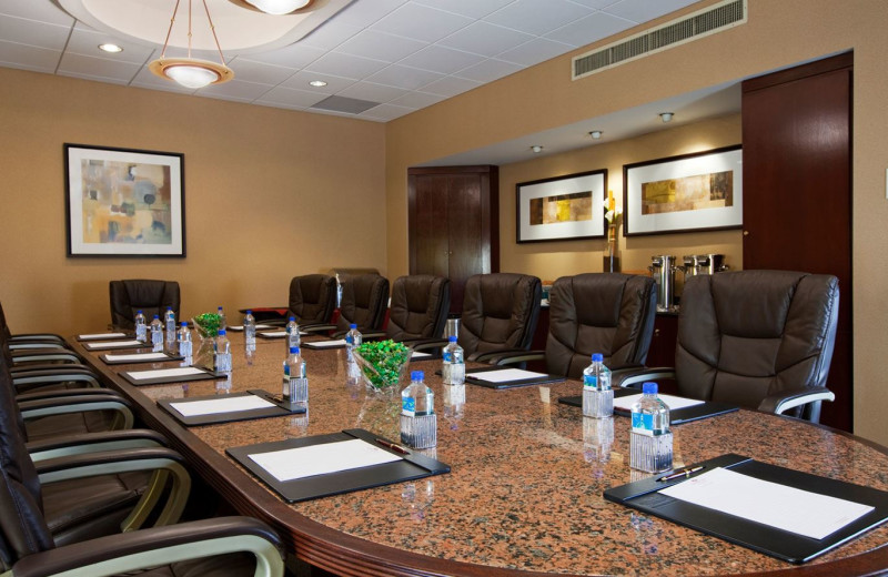 Boardroom at Wyndham Houston West Energy Corridor