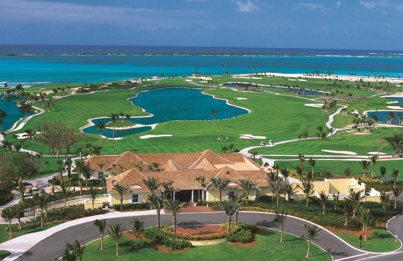 Golf course at Paradise Island Beach Club.