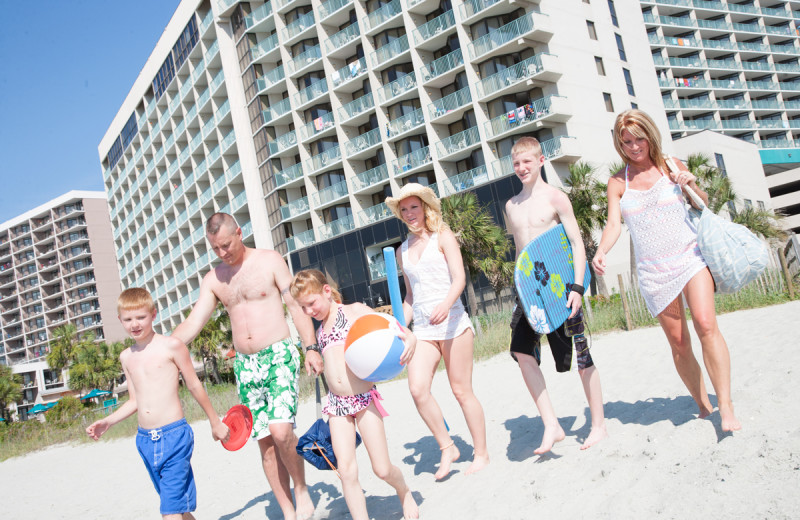 Family at Sands Resorts.