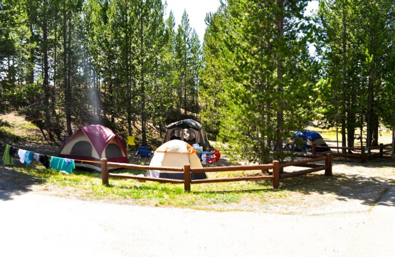 Camping at Sawtelle Mountain Resort.