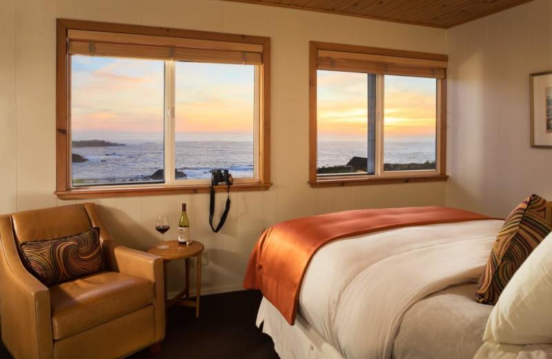 Guest room at Sea Rock Inn.