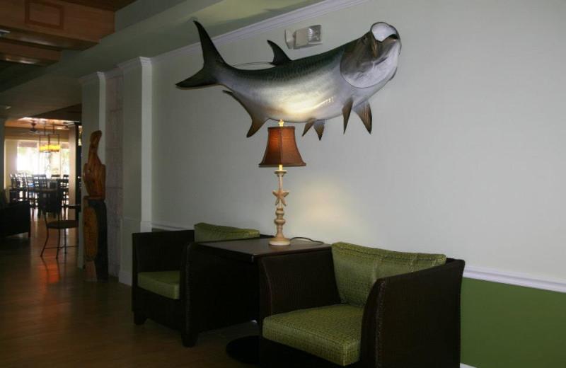 The lobby at Hampton Inn & Suites Islamorada.
