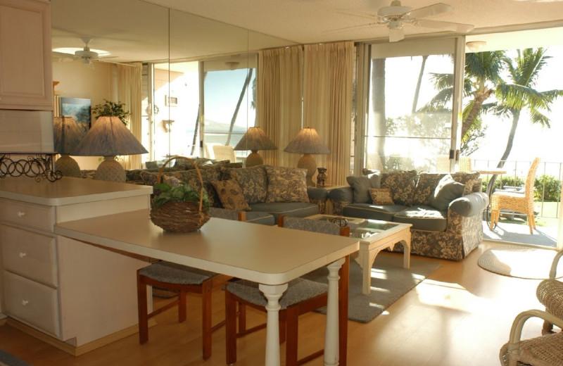 Vacation rental interior at Hale Kai O Kihei.