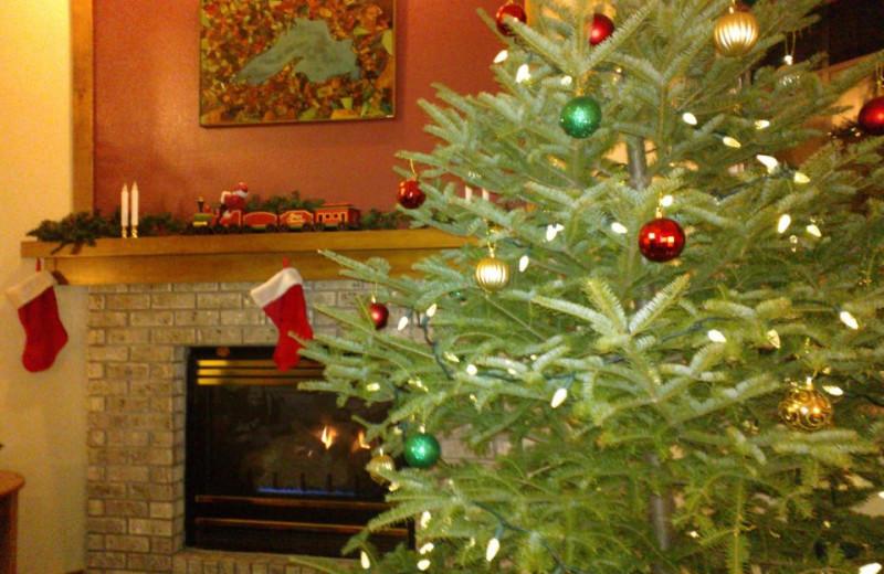 Christmas at The Mountain Inn at Lutsen.