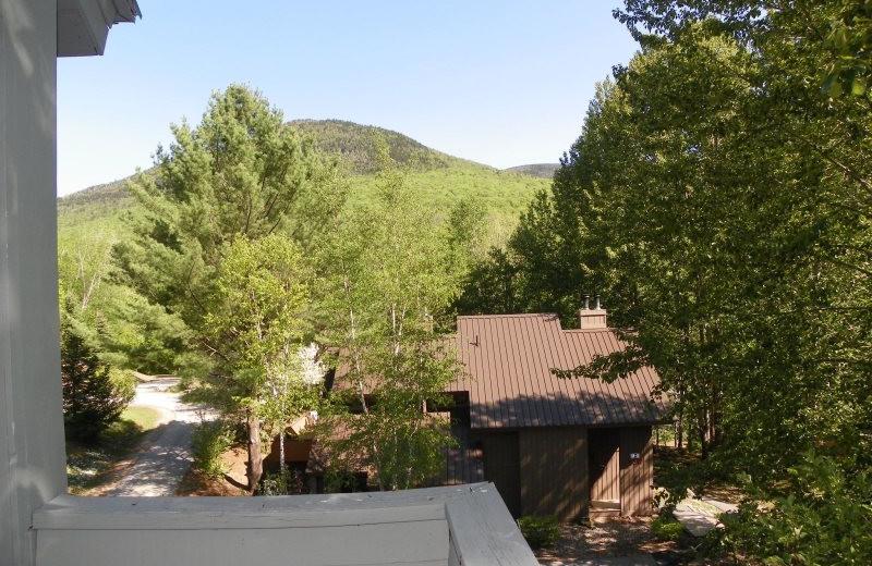 Rental mountain view at All Mountain Rentals.