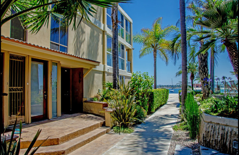 Rental exterior at Surf Style Vacation Homes.