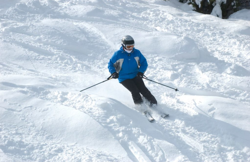 Skiing at Red Lion Inn.