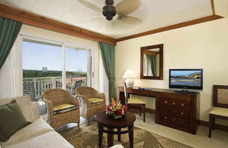 Living Room View at  Barcelo Langosta Beach