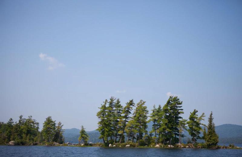 The Lake at Great Camp Sagamore