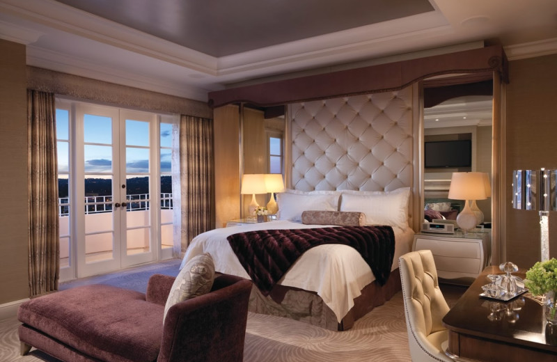 Guest suite at Four Seasons Hotel - Los Angeles.
