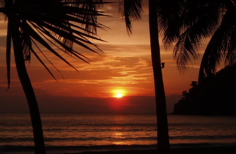 Sunset at Pangkor Island Beach Resort.