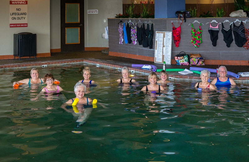 Pool fitness at Prescott Resort & Conference Center.