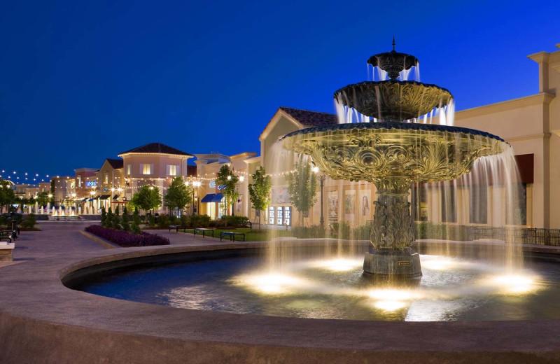 Fountain at The Westin Huntsville.