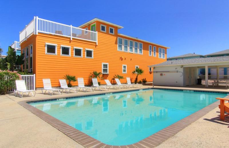 Rental pool at Port A Escapes.