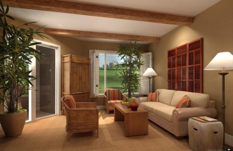 Living room at Arizona Grand Resort.