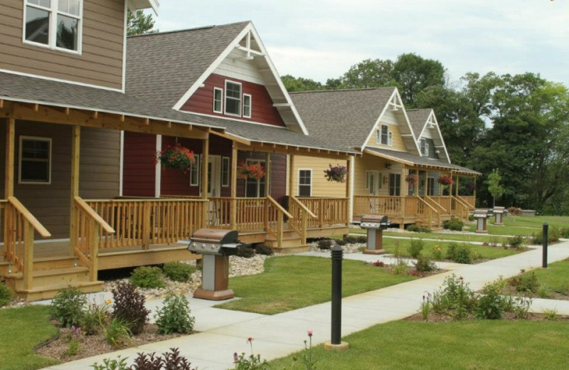 Cottages at Arrowwood Resort.