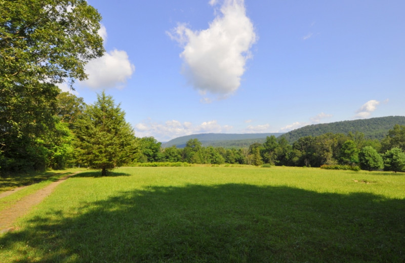 Mountain view at Berkeley Springs Cottage Rentals.
