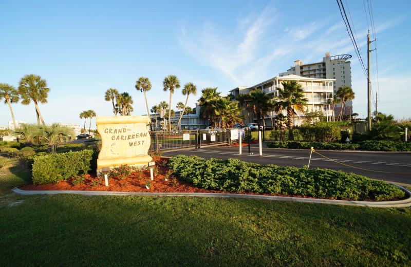 Exterior view of Grand Caribbean Resort.
