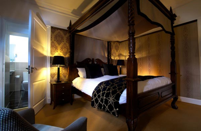 Guest room at Duisdale Country House Hotel.
