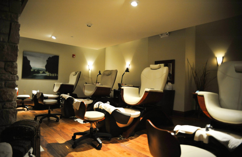 Pedicures at The Osthoff Resort.