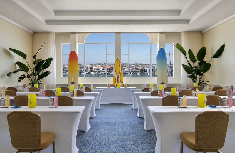 Conference room at Loews Coronado Bay Resort.