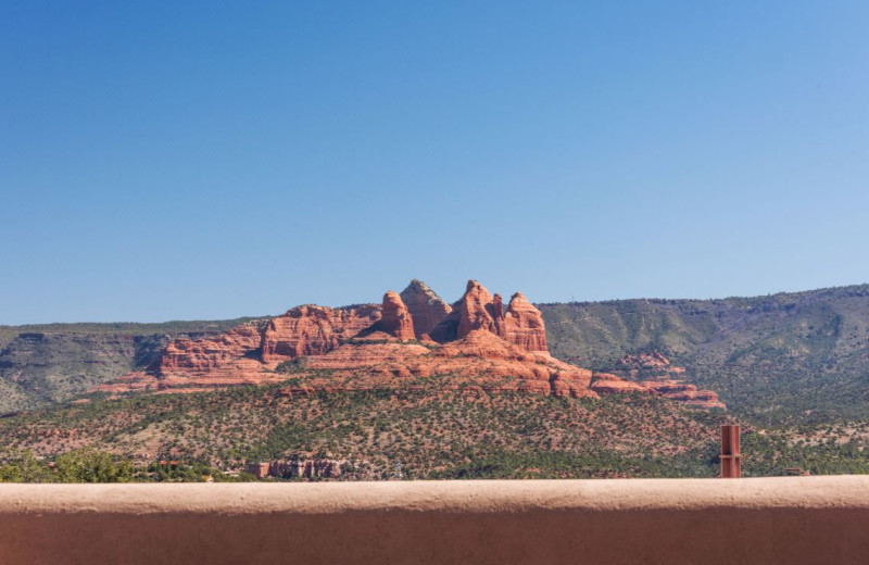 View from Sky Rock Inn of Sedona.