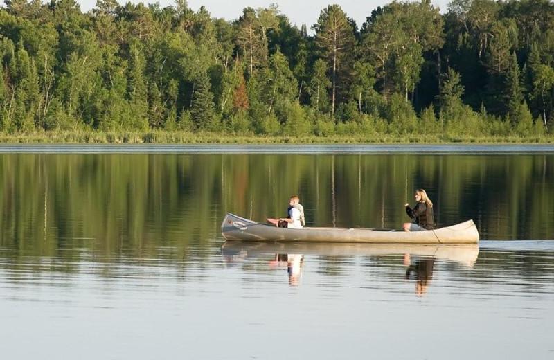 Canoeing at Royal Starr Resort