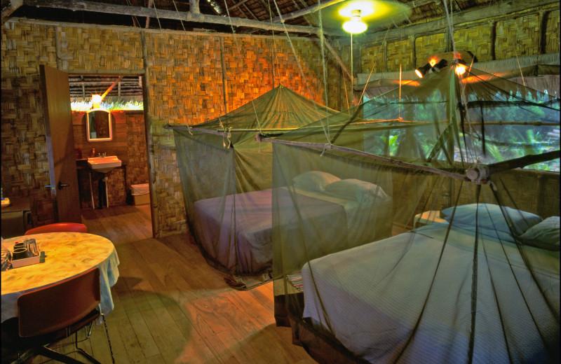 Guest room at Kosrae Village Resort.