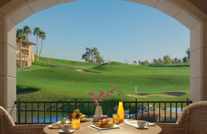 Romantic dining at Arizona Grand Resort.