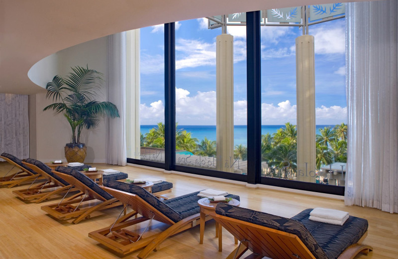 The spa at Hyatt Regency Waikiki Resort & Spa.