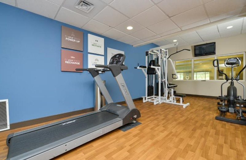 Fitness Center at Comfort Suites Eugene
