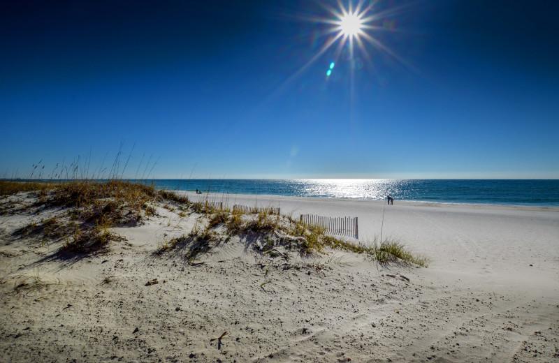 Beach at Luna Beach Properties.
