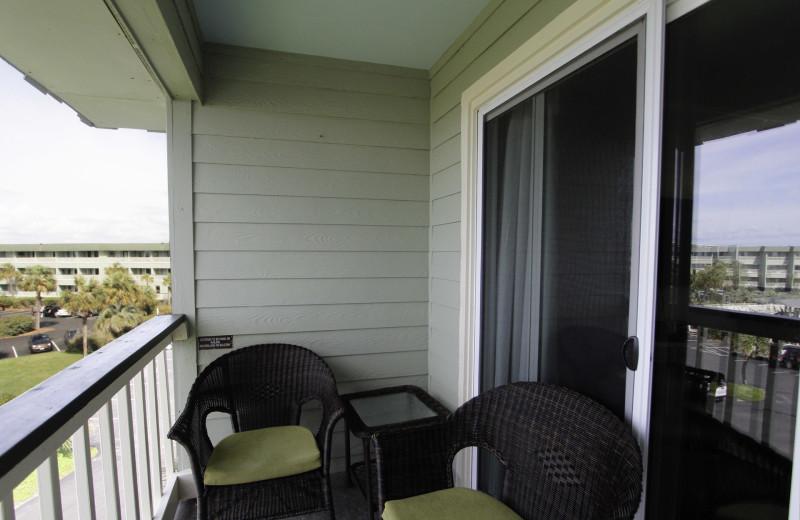 Balcony at Sea Cabin 302 A.