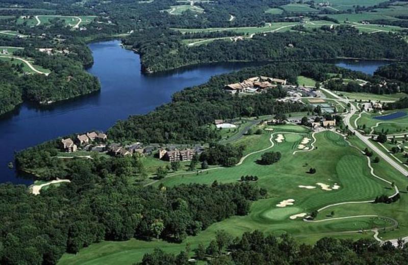 Arial View of  Eagle Ridge Resort