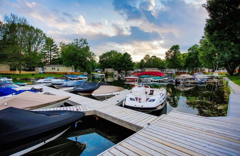 Exterior view of Great Blue Resorts- Shamrock Bay Resort.