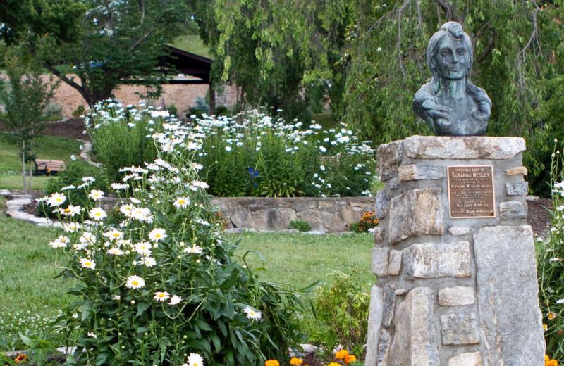 The Susanna Wesley Garden at Lake Junaluska Conference and Retreat Center.