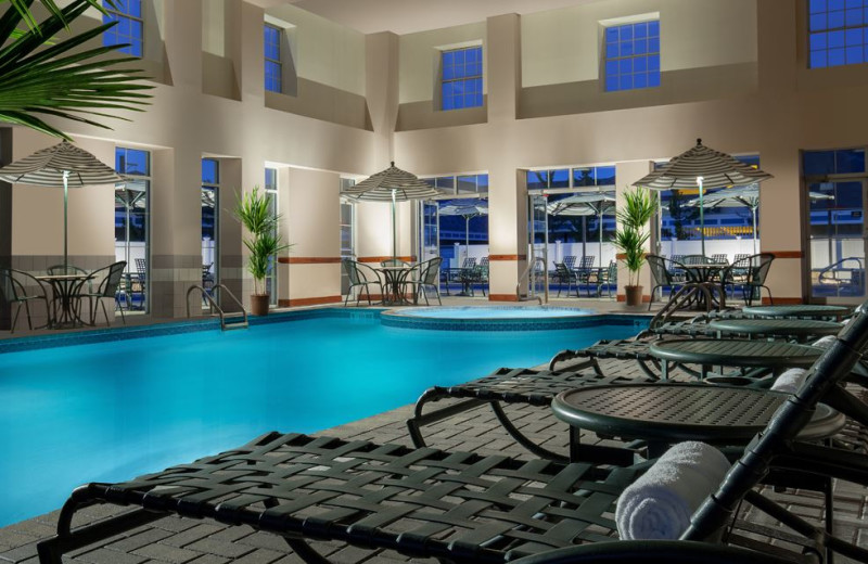 Swimming Pool at North Conway Grand Hotel