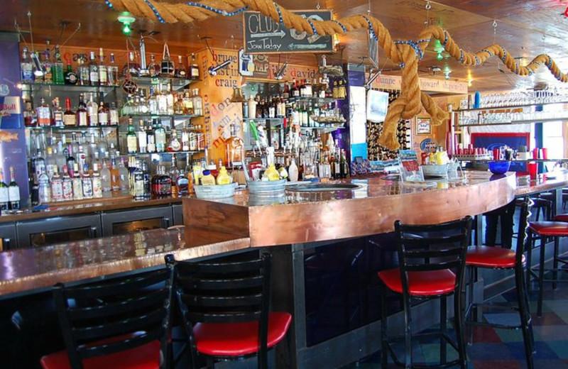 Dining at Bay Harbor Resort and Marina.